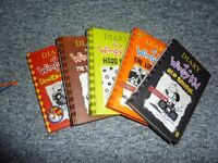 Complete book set of Diary of a Wimpy Kid