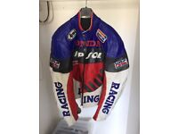 Replica Repsol Honda Mens Leather Motorcyle Jacket XL