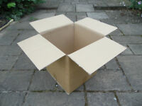 Free for collection only - Large, strong cardboard packaging boxes - Great for house move !