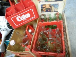 Coke-Cola Collectables Lot  bottles carriers adverts