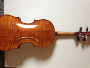 Exclusive stringed instrument sales and repairs