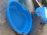 Water and sand pit
