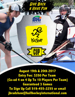 Kidsport 4 vs 4 Coed Ball Hockey Tournament