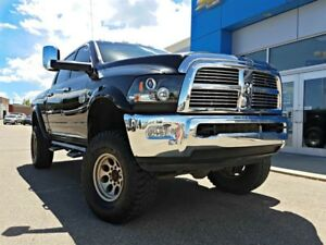 2012 RAM 3500 Laramie Longhorn Lift Kit Exhaust Rims Loaded