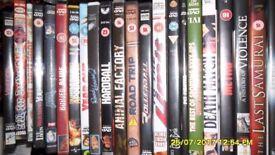 dvd joblot 115 dvds