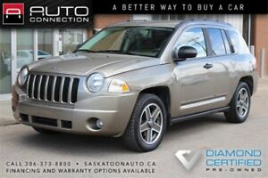 2008 Jeep Compass North Edition 4x4 ** HEATED SEATS ** LOW KM **