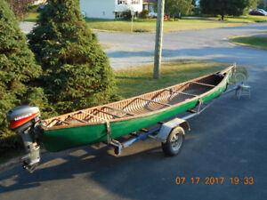 Canoe, Motor, Trailer