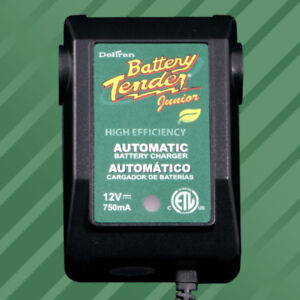 Battery Tender Junior,12 Volts, 0.75A Maintainer, Charger