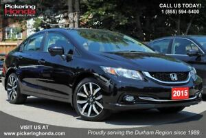 2015 Honda Civic Touring LEATHER SUNROOF NAVIGATION
