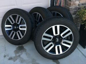 Toyota 4Runner Limited Wheels and Tires 6x139.7 P245/60R20