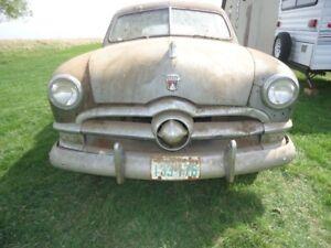 """""""BARN  FIND""""  -- 1950 FORD Sedan"""