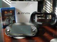 PSP Vita with accessories (PCH-2016)