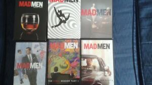 Mad Men DVDs