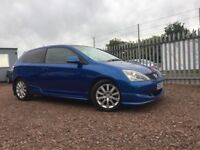 STUNNING --HONDA CIVIC SPORT 1.6 PETROL / COMES WITH ONE YEAR MOT / FULL SERVICE HISTORY