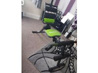 6 in 1 fitness trainer for sale- hardly used!