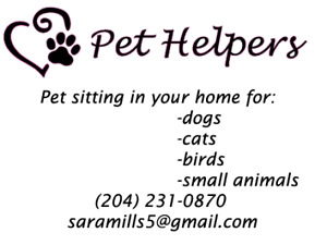 In Home Pet Sitting Starting at $20 a day!!
