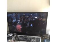 Led monitor 32 inch and tv with a ps4 bundle