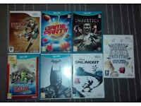 Wii U and Wii games bundle