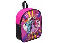 My Little Pony Backpack Rucksack Travel Junior Kids Work Nursery School Bag Pink
