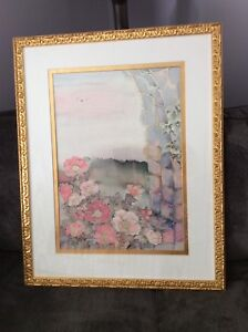PRICE REDUCTION-Large Picture - Flowers in Archway