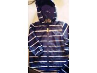 ideal school coat , waterproof hooded jacket