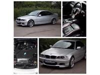 BMW Coupe 318SE Titanium Silver