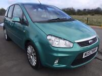 SALE! Bargain Ford C-Max, long MOT, ready to go