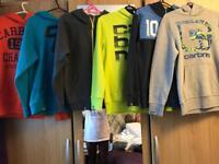 Boys clothes 12-13/hoodies/trackies/t-shirts