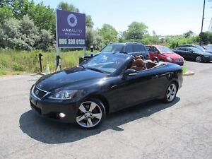 2012 Lexus IS250 2.5L CONVERTIBLE CLEAN CAR PROOF NAVIGATION/REA
