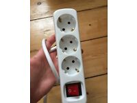 European Extension socket