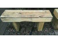 Reclaimed Timber Bench (107 cm long)