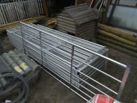 Galvanised gate 12ft
