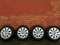 Audi A3, 16inch alloys tyres for quick sale
