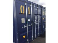 We offer secure and affordable container units for self storage near Woodbridge , Suffolk ,IP12 2TW