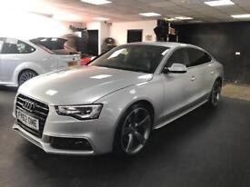 "Audi A5 3.0 TDI S Line Sportback Multitronic 5dr 20""ALLOYS SATNAV FULL HEATED LEATHER SEATS"