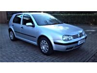 VW GOLF AUTOMATIC 1.6 PETROL CAR