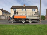 Ifor Williams 12x6 tipping trailer