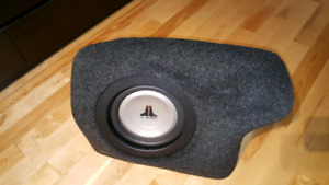 2006 to 2011 Civic and CSX subwoofer enclosure