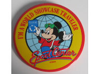 Cloth and Pin on Souvenir Badges