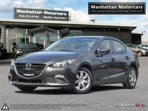2014 MAZDA 3 GX-SKY AUTOMATIC |1 OWNER|FAC.WARRANTY|BLUETOOTH