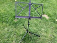 Music Stand - Black - Very Adjustable