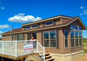 FREE RV LOT with New Park Model Home at Lucien Lake