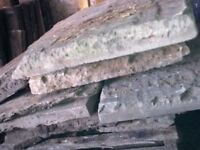 Reclaimed building materials for sale can deliver.