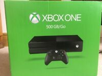 Xbox One 500gb with Black Ops 3, GTA 5 and wireless gaming headset