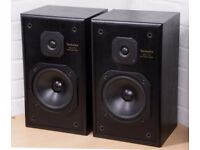 Technics SB-CS5 Main / 2 Way Stereo Speakers - Perfect Condition