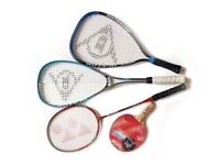 **Squash &/or Badminton &/or T.Tennis games**