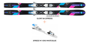 Dynastar Glory 84/ 163cm+binding and Atomic Waymaker Carbon 120