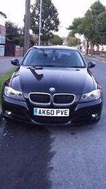BMW 3 SERIES BLACK 157K ECO MODEL IDRIVE AND SATNAV
