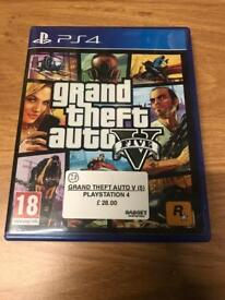 Grand Theft Auto 5, PlayStation 4 Game