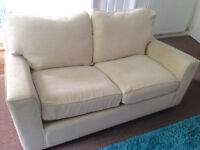 Next double cream sofa bed for sale